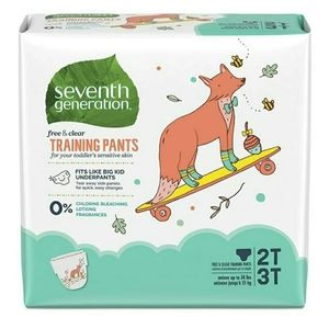 Seventh Generation Potty Training Diapers Kids 25